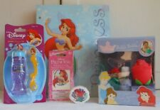The Little Mermaid Bubble Bath Set Bubbles Tattoos Magic Towel Folder Lot