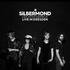 SILBERMOND - LEICHTES GEPÄCK-LIVE IN DRESDEN  2 CD NEUF