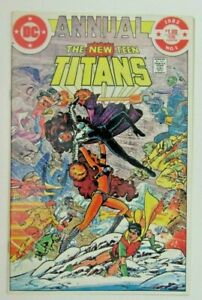 The New Teens Titans Annual #1 - DC Comics 1982