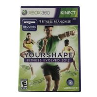 Your Shape: Fitness Evolved 2012 (Microsoft Xbox 360 2011) Complete w/Manual CIB