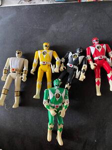 Power Rangers Vintage Flip Head Figures