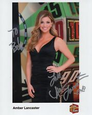 Amber Lancaster Hand Signed 8x10 Photo+Coa Sexy Price Is Right Model To Bob