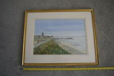 Water colour painting by Dan Youngman 'Cromer From East Cliff'