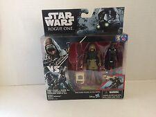 "Star Wars Rogue One Rebel Commando Pao VS Imperial Death Trooper 3.75"" 2PK NEW"
