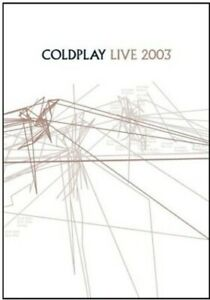 Coldplay - Live 2003 (DVD, 2003, Amaray; Includes Audio CD) GREAT SHAPE