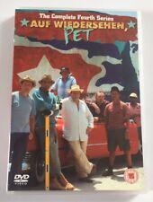 Auf Wiedersehen Pet : Complete Series Four / Season 4 GENUINE UK DVD Set - MINT