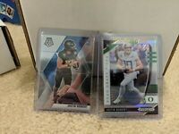 Justin Herbert (2) Card Silver Rookie Lot Mosaic Variation SP Silver + Prizm DP
