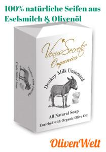 UNIQUE PRODUKT - Natürliche SEIFEN aus Eselsmilch und Bio Olivenöl (150 g)