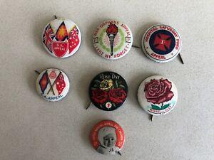 Vintage Lot of Badges