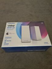 More details for linksys velop ax4200 tri-band mesh wi-fi 6 system (set of 2)