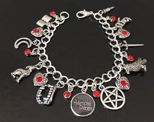 The Vampire Diaries Charm Bracelet, Tv Show, Jewellery, Jewelry, Fandom, Gift