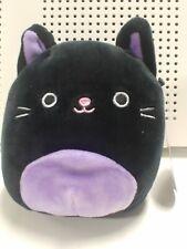 Squishmallow Black Cat Purrple Halloween 6 Inch Kellytoys New
