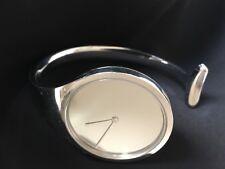 Georg Jensen Stainless Steel Torun Bangle Watch #326 Size small/medium Bracelet