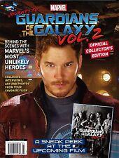 NEW Marvel Guardians of the Galaxy Vol 2 Collectors Edition Magazine Chris Pratt