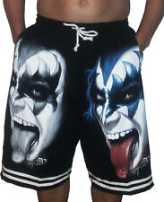 Kiss Gene Simmons K5 Shorts T-Shirt Print Heavy Metal