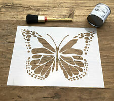 Large Butterfly Stencil, Butterfly Wall Art, Insect Stencil, Nursery Stencil