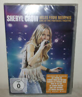 DVD SHERYL CROW - MILES FROM MEMPHIS - NUOVO NEW