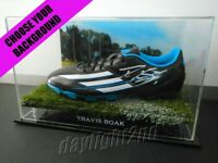 ✺Signed✺ TRAVIS BOAK Football Boot PROOF COA Port Adelaide Power 2020 Jumper AFL