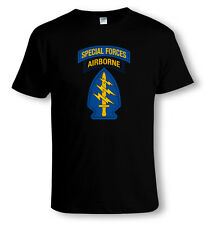 US Army, Special Forces Airborne Insignia Militar T-SHIRT TAMAÑOS a 4XL