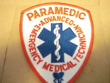 "PARAMEDIC  3 1/2"" X 4 1/2"" NEW CLOTHING PATCH"
