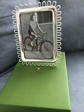 Kate Spade Keaton Street 5x7 Silver Frame - NIB