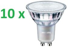 10 x PHILIPS MASTER LED Spot GU10 Reflector 4,9 -50w 2700k Bombilla Regulable