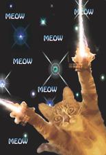 ZAP MEOW ZAP PUSSY CAT BIRTHDAY CARD BLANK INSIDE