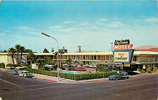 LAS VEGAS NV CITY CENTER MOTEL FREMONT STREET CHROME P/C