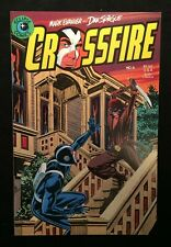 "Eclipse Comics Crossfire Vol.1 #6 Nov. 1984 ""Machete!"" 9.0 VF/NM"