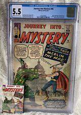 Journey Into Mystery 96 CGC 5.5 C/OW Stan Lee Jack Kirby Steve Ditko Joe Sinnot