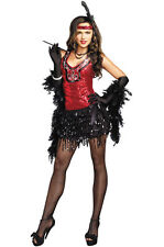 Dazzle Sequin Flapper Dress What's Shakin' Adult Costume ADULT LARGE
