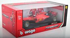 1/18 Bburago 2019 Ferrari SF90 #16 Charles Leclerc Diecast Model Car
