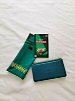 Pocket Magnetic Travel Scrabble-Mattel Games with soft fabric casing for storage