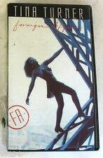 TINA TURNER - FOREIGN AFFAIR - VHS Nuova Unplayed
