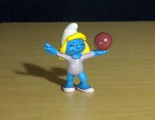 Smurfette Gymnastics Smurf Olympic Gymnast Figure Vintage Toy PVC Figurine 20740