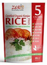 ZERO Konjac Rice 400g (x60 - $2.95 p/pkt) ZERO calorie & carb + FREE Delivery