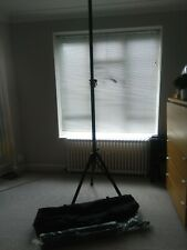 Live brand PA telescopic speaker stand (pair) stands with bag. 2m high