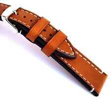 XL LEDERBAND 18, 20, 22, 24mm RIOS1931 Germany BAND Vintage STRAP Uhrenarmband