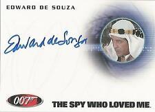"James Bond 50th Anniversary: A199 Edward de Souza ""Sheikh Hosein"" Autograph Card"