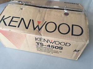Brand new Kenwood ts-450s HF radio transceiver