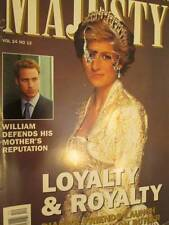 Majesty UK Magazine V24 #12-Burrell Book On Diana- Her Supporters/Swedish Royal