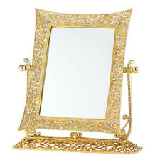 Olivia Riegel Gold Windsor Standing Magnified Mirror