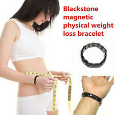 Women Men's Magnetic Black Titanium Steel Bracelet Health Therapy Care Function