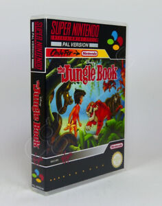 Super Nintendo SNES Game CASE ONLY - The Jungle Book