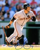 GREGOR BLANCO SIGNED AUTOGRAPHED 8x10 PHOTO SAN FRANCISCO GIANTS PSA/DNA