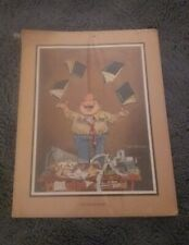 """""""The Accountant"""" By Gary Patterson - Vintage Print"""