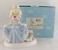 "Disney Precious Moments ""A Dream is A Wish Your Heart Makes"" Cinderella in Box"