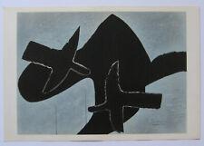 BRAQUE GEORGES LITHOGRAPHIE SIGNÉE DLM 1958 DERRIÈRE LE MIROIR N°107 LITHOGRAPH