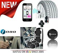 Nextbase Selama sistema de monitor de la presión del neumático │ Teléfono Inteligente-Incar alerta │ 4 Sensor Negro