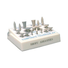 Shofu Dental 0322 Abrasives Plastic Composite Technique Kit CA Contra Angle